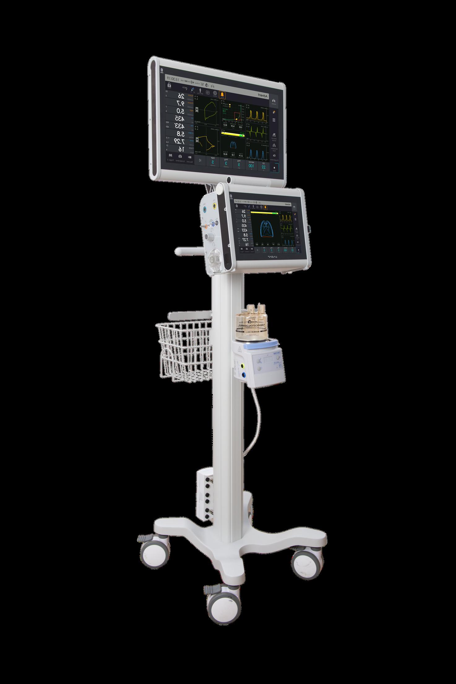 UVENT-T-S ICU Ventilator model